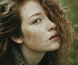 freckles, vintage, and ginger image