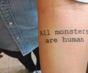 tattoo, monster, and ahs image