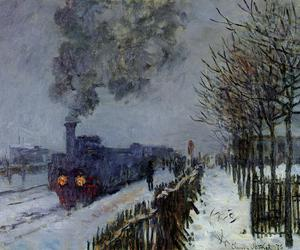 claude monet, art, and painting image