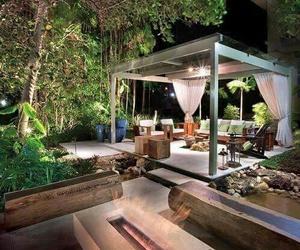backyard, cool, and nature image