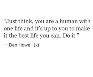 dan howell, quote, and amazingphil image