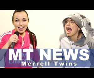 video, merrell twins, and veronica merrell image