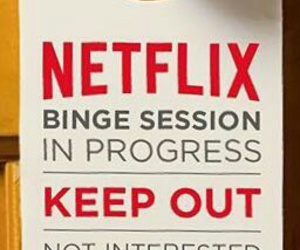 shut up, 😍, and let me watch netflix image