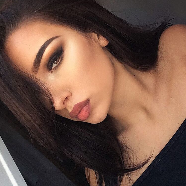 Amazing Awesome Beautiful Black Bronzer Brown Hair Brunette
