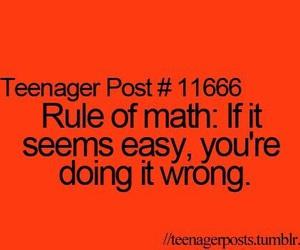 math, funny, and wrong image