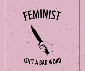 feminist, feminism, and pink image
