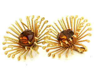 etsy, sarah coventry, and fashion earrings image