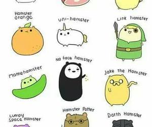 hamster, cute, and panda image