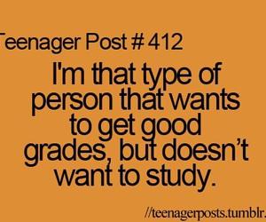 teenager post, study, and school image