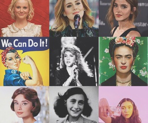 Adele, anne frank, and emma watson image
