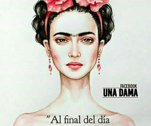 chicas, frases, and Frida image
