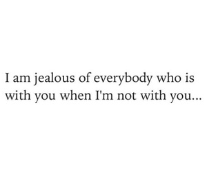 alone, jealous, and truth image