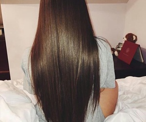 hair, long hair, and beauty image