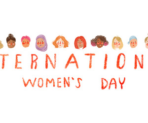 woman and women's day image