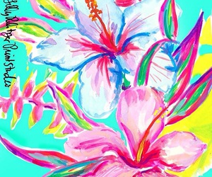 wallpaper and lily pulitzer image