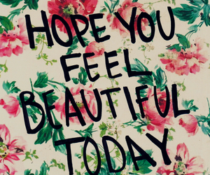 beautiful, quotes, and flowers image