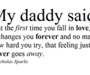 love and daddy image