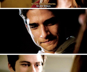 teen wolf, scott mccall, and lydia martin image