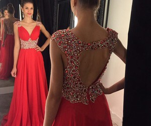 red prom dresses and womens prom dresses image