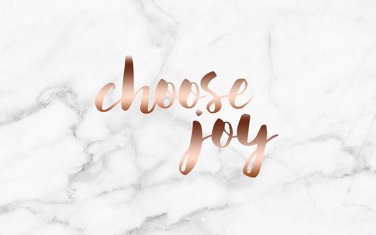 choose joy | rose gold and marble wallpaper | boymeetsluxury by ♕ᎯɳՏ | WHI