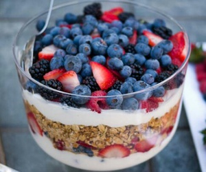 berries, fitness, and food image
