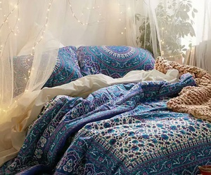 bed, boho, and goals image