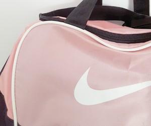 nike, pink, and bag image