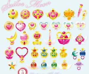 sailor moon and toys image