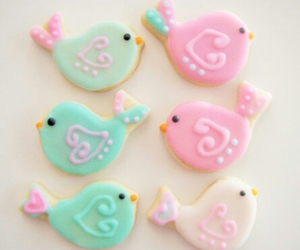 beautiful, bird, and Cookies image
