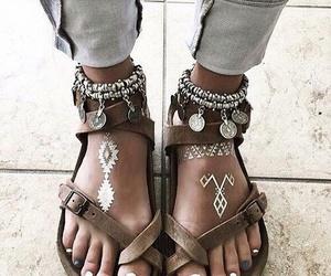shoes, style, and boho image
