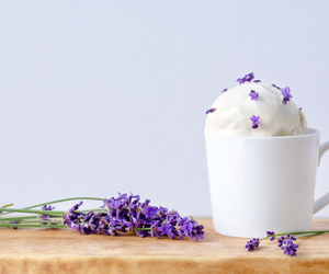 earl grey, lavender, and ice cream image