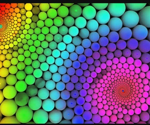 beautiful, colours, and geometry image