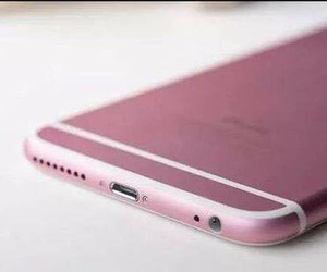 apple, pink, and iphone 6s image