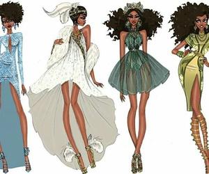 fashion, disney, and tiana image