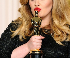 Adele, oscar, and beautiful image