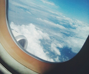 airplane, dreams, and goals image