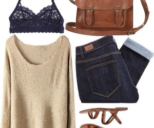 outfit, fashion, and cute image