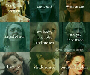 eowyn, lordoftherings, and ygritte image