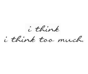 quote, think, and much image