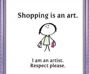 art, shopping, and artist image