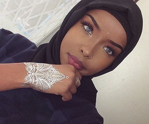 henna and hijab image