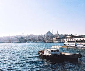 city, istanbul, and turkey image
