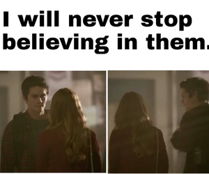 lydia, teen wolf, and ship image