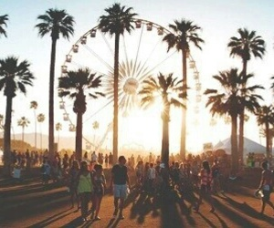 summer, coachella, and festival image