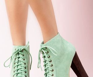 heels, fashion, and mint image