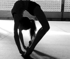 girl, gymnastics, and flexible image