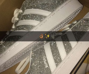 adidas and glitter image