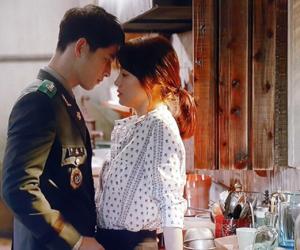 kiss, korean, and kdrama image