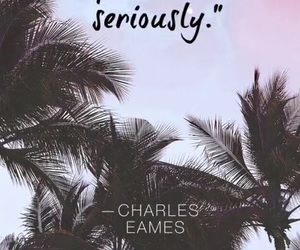 quote, charles, and palms image