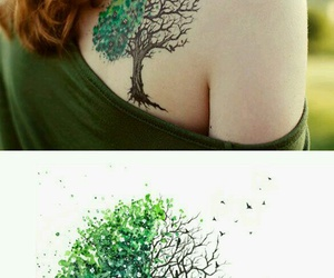 tattoo, beautiful, and color image
